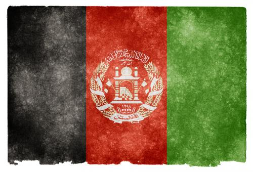 Afghanistan Grunge Flag - Free Stock Photo