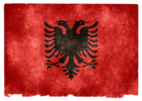 Albania Grunge Flag - Free Stock Photo