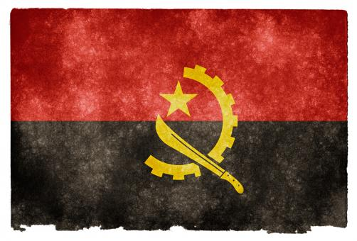 Angola Grunge Flag - Free Stock Photo