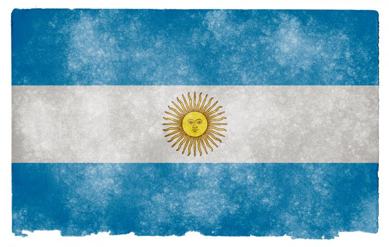 Free Stock Photo of Argentina Grunge Flag Created by Nicolas Raymond