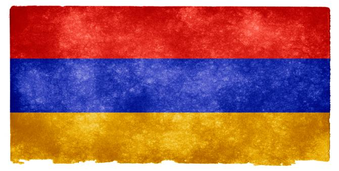 Armenia Grunge Flag - Free Stock Photo