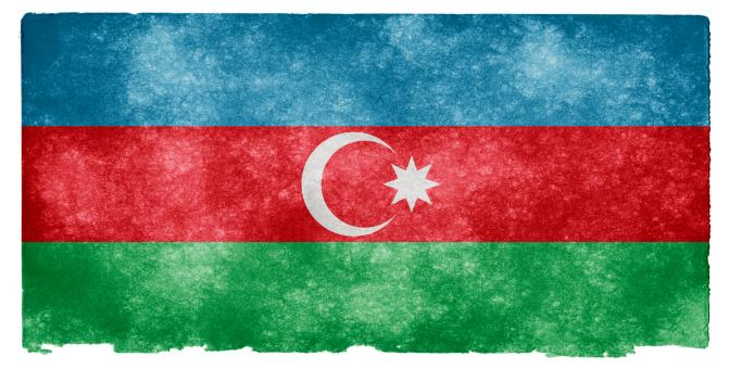 Azerbaijan Grunge Flag - Free Stock Photo