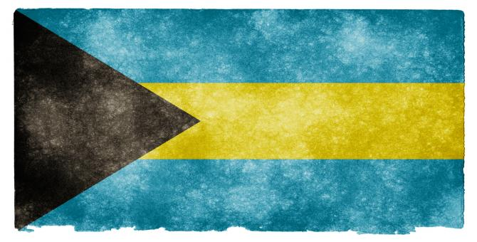 Bahamas Grunge Flag - Free Stock Photo