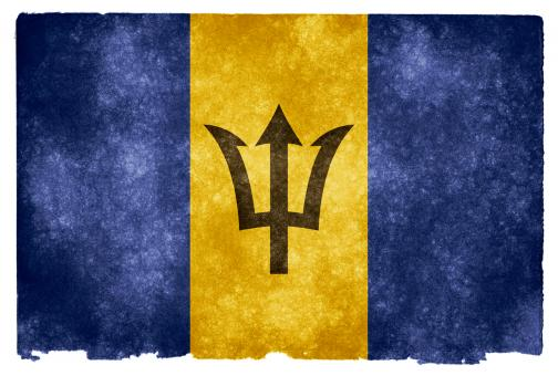 Barbados Grunge Flag - Free Stock Photo
