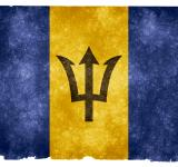 Free Photo - Barbados Grunge Flag