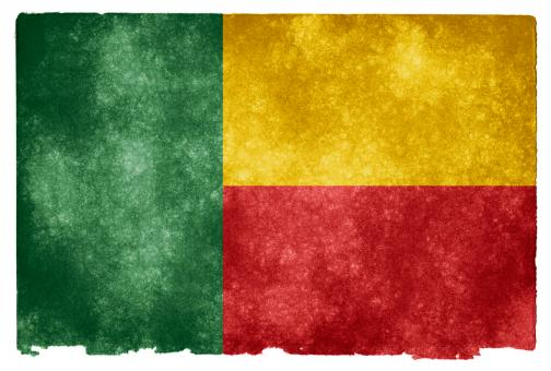 Benin Grunge Flag - Free Stock Photo
