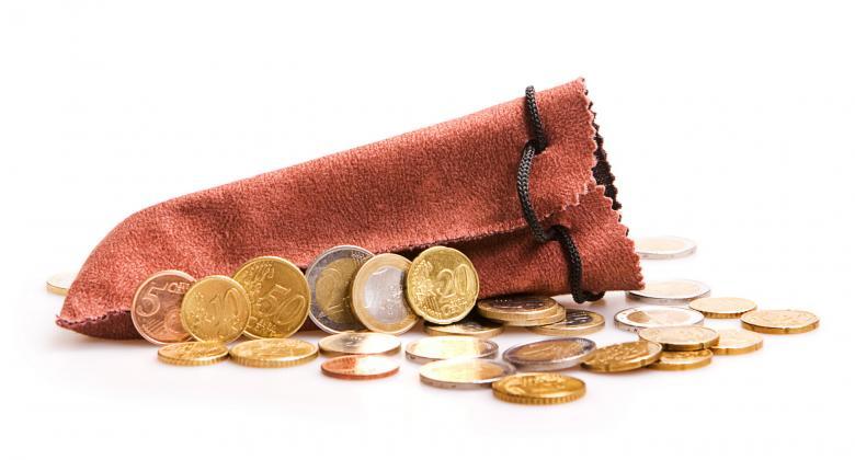 Free Stock Photo of Euro Coins