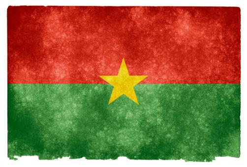 Burkina Faso Grunge Flag - Free Stock Photo