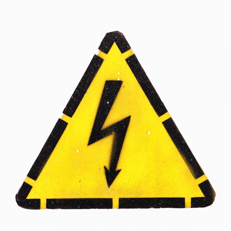 Free Stock Photo of High Voltage Sign Created by 2happy