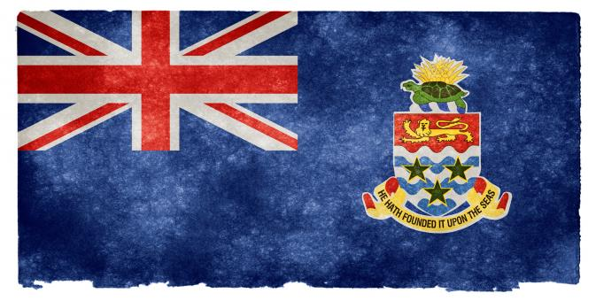Cayman Islands Grunge Flag - Free Stock Photo