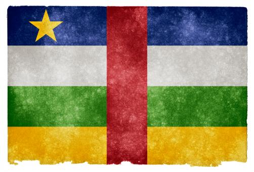 Central African Republic Grunge Flag - Free Stock Photo