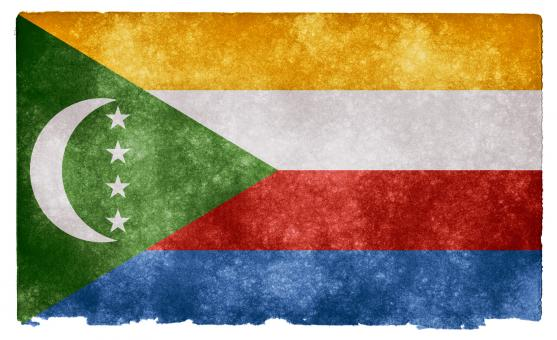 Comoros Grunge Flag - Free Stock Photo