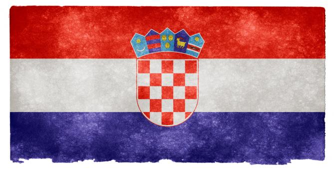 Croatia Grunge Flag - Free Stock Photo