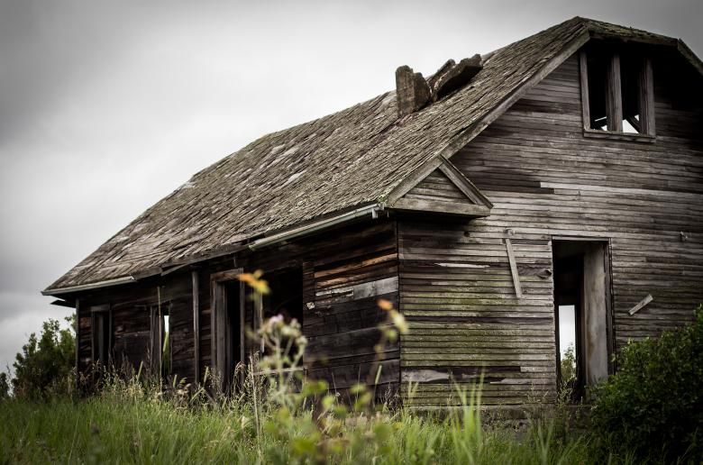 Free Stock Photo of Abandoned House Created by Chris Mireault