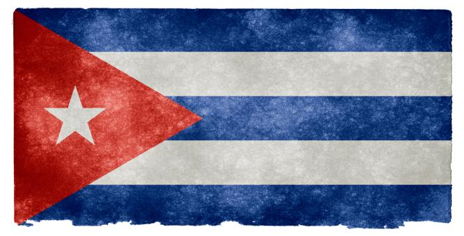 Cuba Grunge Flag - Free Stock Photo