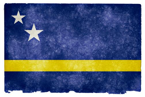 Curacao Grunge Flag - Free Stock Photo