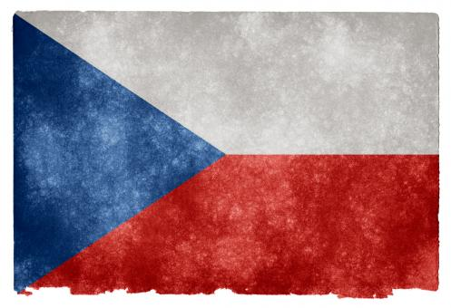 Czech Republic Grunge Flag - Free Stock Photo