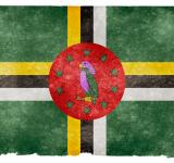Free Photo - Dominica Grunge Flag