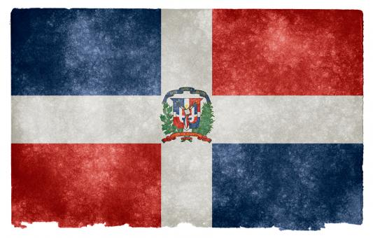 Dominican Republic Grunge Flag - Free Stock Photo
