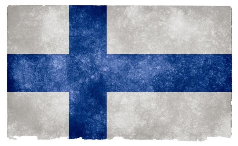 Free Stock Photo of Finland Grunge Flag Created by Nicolas Raymond