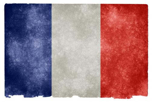 France Grunge Flag - Free Stock Photo
