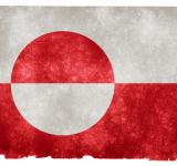 Free Photo - Greenland Grunge Flag