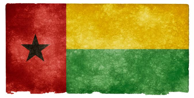 Guinea-Bissau Grunge Flag - Free Stock Photo