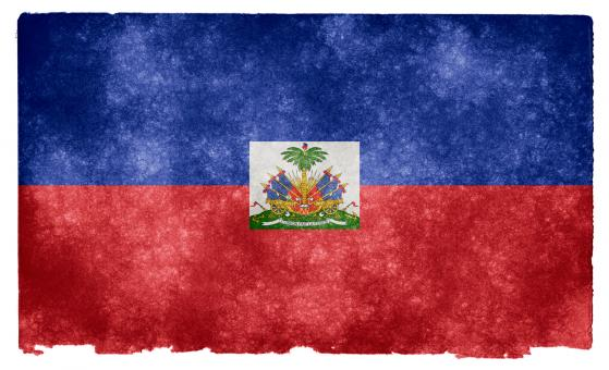 Haiti Grunge Flag - Free Stock Photo
