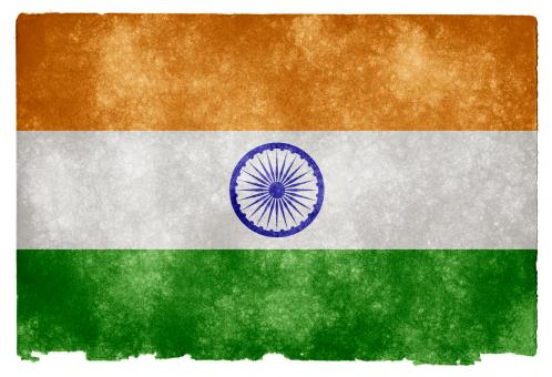 India Grunge Flag - Free Stock Photo