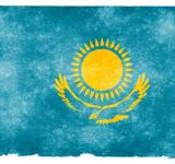 Free Photo - Kazakhstan Grunge Flag