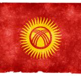 Free Photo - Kyrgyzstan Grunge Flag