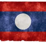 Free Photo - Laos Grunge Flag