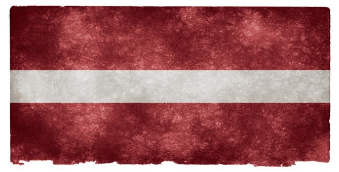 Latvia Grunge Flag - Free Stock Photo