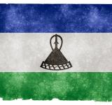 Free Photo - Lesotho Grunge Flag