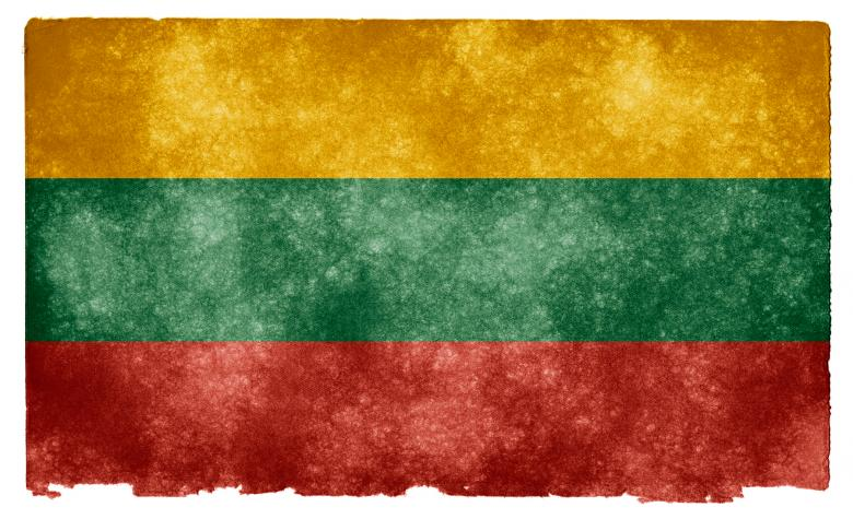 Free Stock Photo of Lithuania Grunge Flag Created by Nicolas Raymond