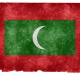 Free Photo - Maldives Grunge Flag