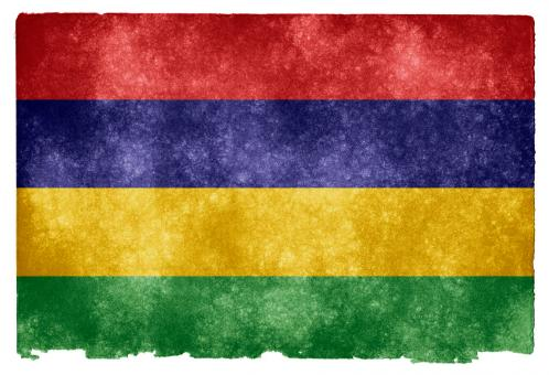 Mauritius Grunge Flag - Free Stock Photo