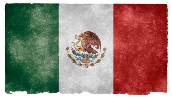 Mexico Grunge Flag - Free Stock Photo