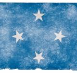 Free Photo - Micronesia Grunge Flag