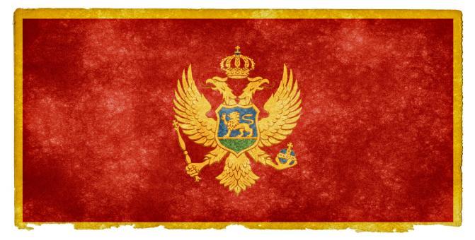 Montenegro Grunge Flag - Free Stock Photo