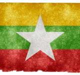 Free Photo - Myanmar Grunge Flag