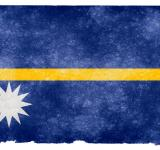 Free Photo - Nauru Grunge Flag