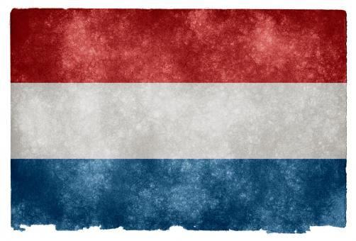 Netherlands Grunge Flag - Free Stock Photo