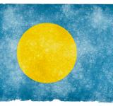 Free Photo - Palau Grunge Flag
