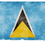 Free Photo - Saint Lucia Grunge Flag