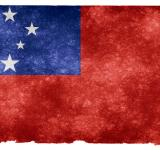Free Photo - Samoa Grunge Flag