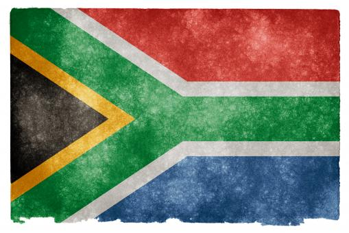 South Africa Grunge Flag - Free Stock Photo