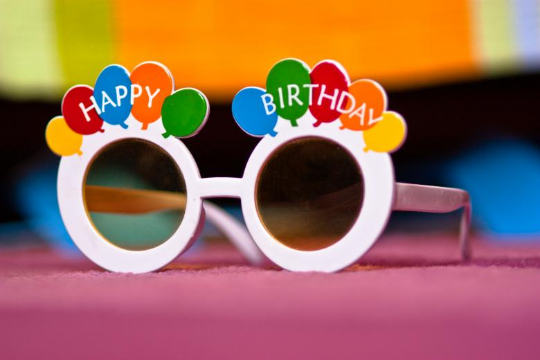 Free Stock Photo of birthday glasses Created by diana