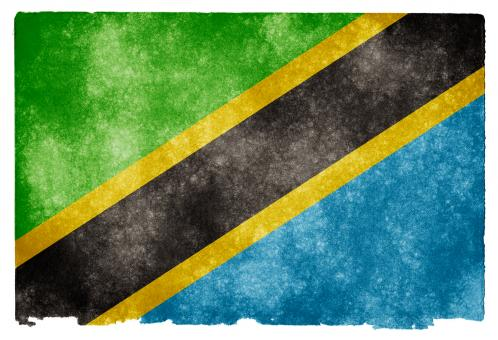 Tanzania Grunge Flag - Free Stock Photo
