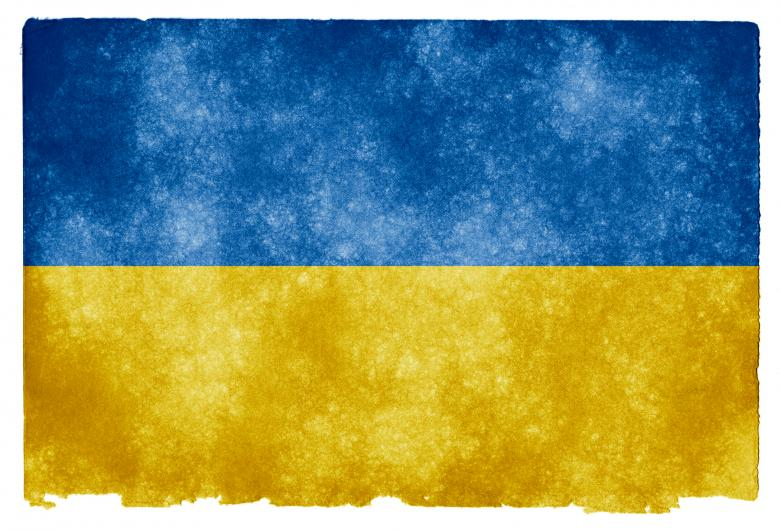 Free Stock Photo of Ukraine Grunge Flag Created by Nicolas Raymond